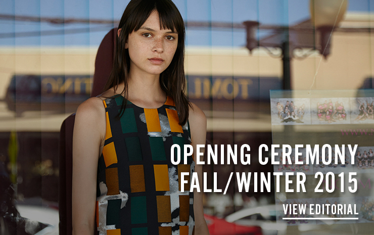 Opening Ceremony Fall/Winter 2015 - View Contact/Space Editorial