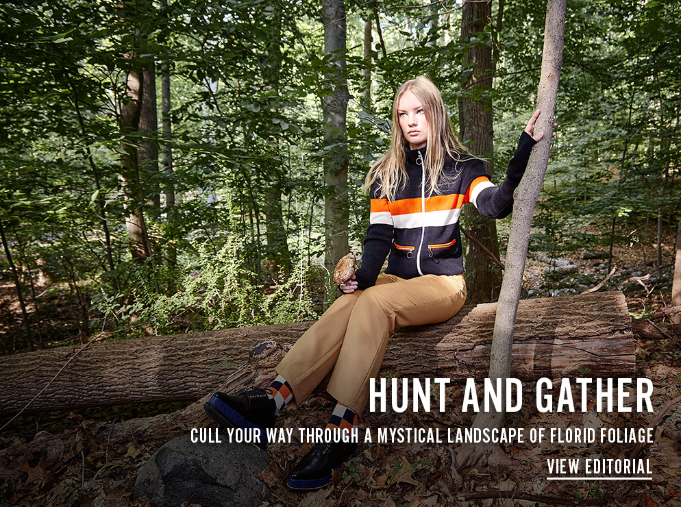 Hunt and Gather - Cull Your Way Through a Mystical Landscape of Florid Foliage - View Editorial