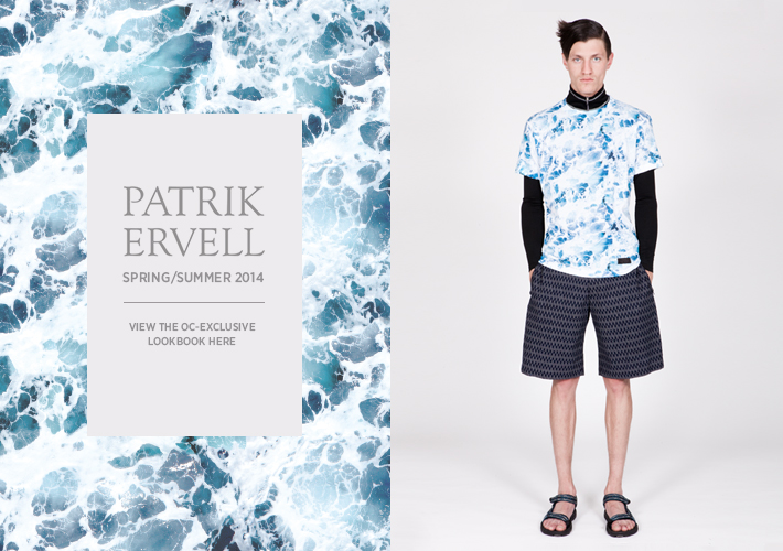 View the Patrik Ervell Spring/Summer 2014 - Exclusive to OC!