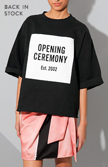 Back In Stock: Opening Ceremony OC Logo Cut-Off Sweat Tee