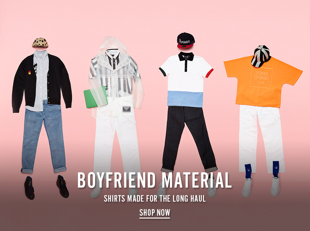Boyfriend Material - Shirts Made For The Long Haul - Shop Now