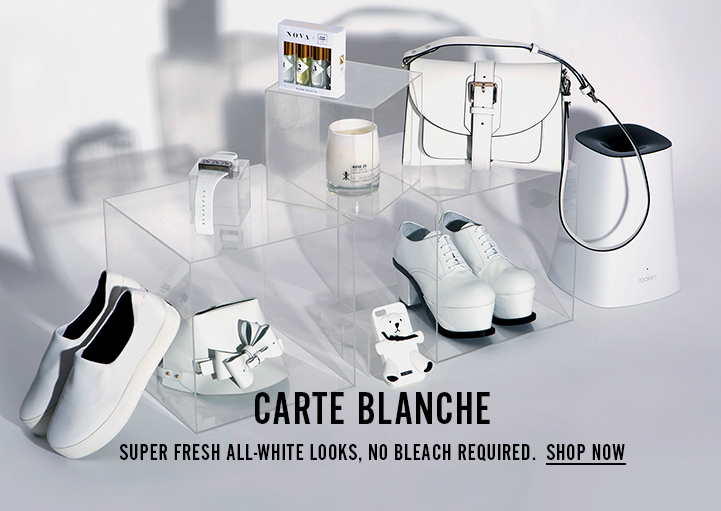 Carte Blanche - Super Fresh All-White Looks, No Bleach Required