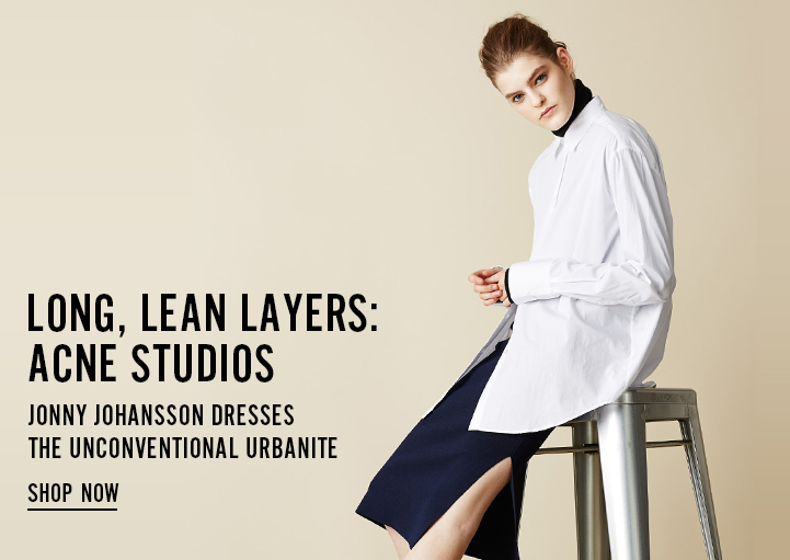 Long, Lean Layers: Acne Studios - Shop Now