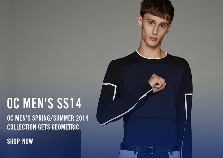 OC Men's Spring/Summer 2014 Gets Geometric - Shop Now