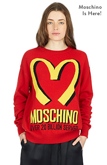The Moschino Capsule Collection is here!