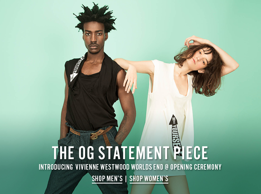 The OG Statement Piece - Introducing Vivienne Westwood Worlds End at Opening Ceremony