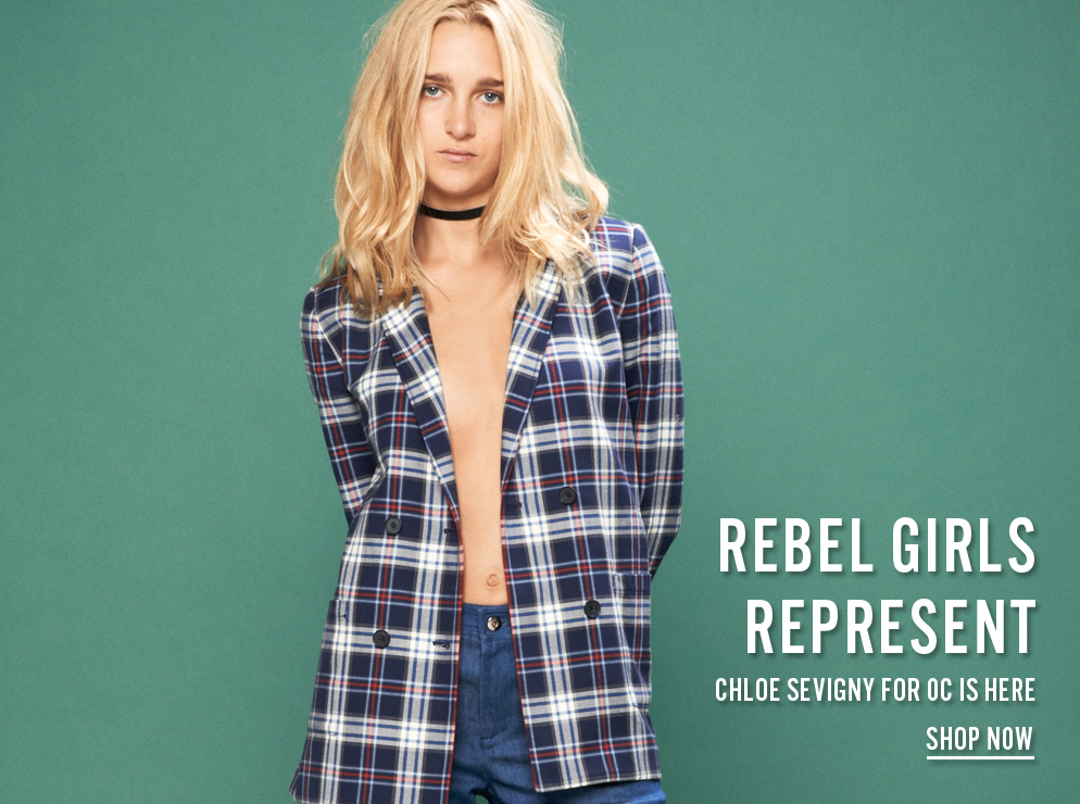 REBEL GIRLS REPRESENT - Chloe Sevigny For Opening Ceremony Is Here - Shop Now