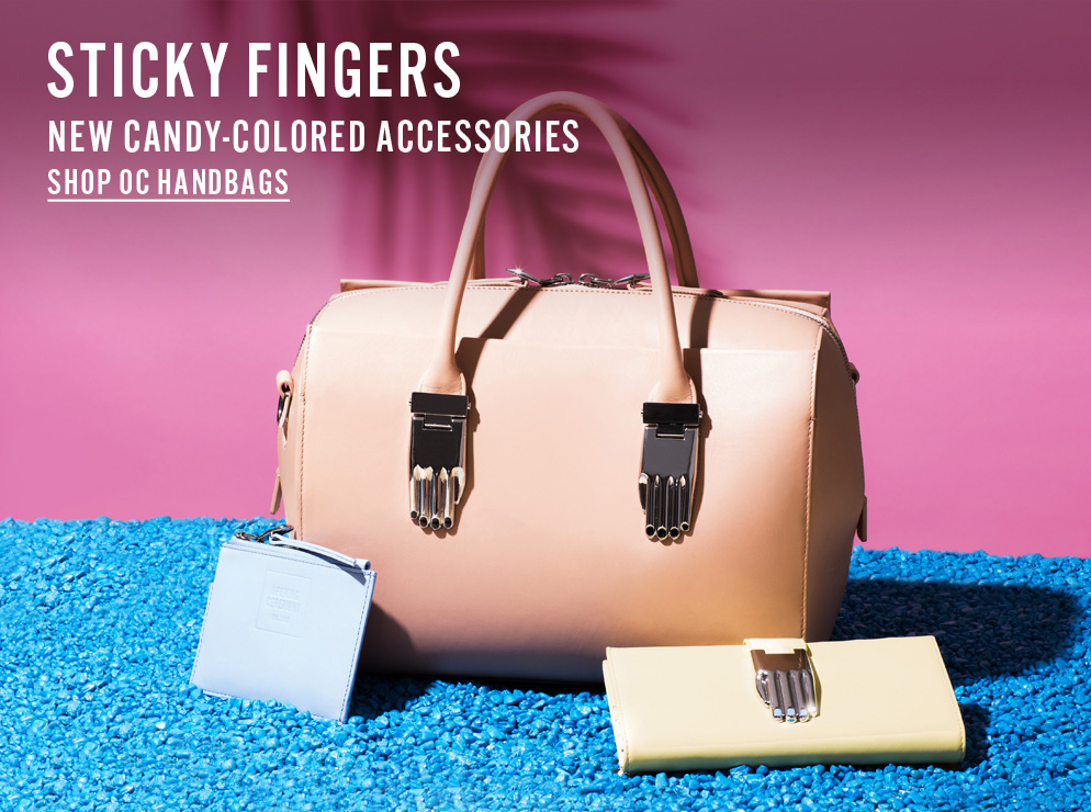 Sticky Fingers - New Candy-Colored Accessories - Shop OC Handbags