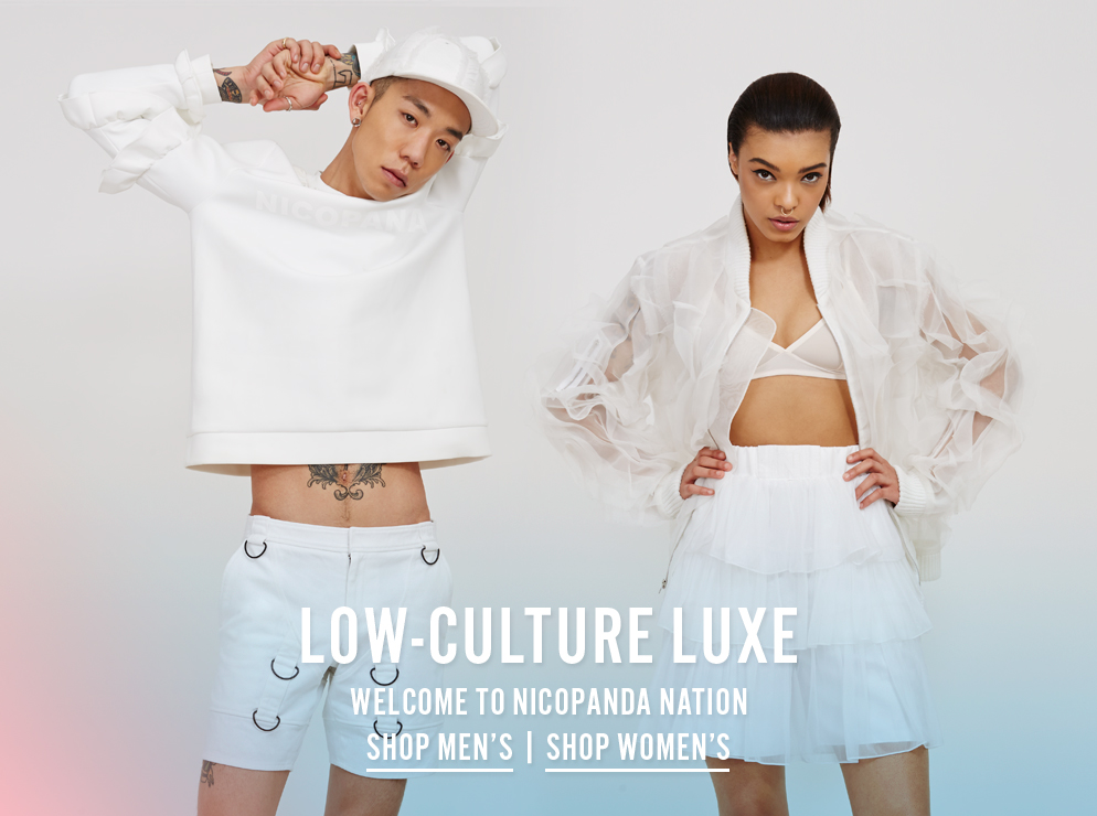 Low-Culture Luxe - Welcome To Nicopanda Nation - Shop Now