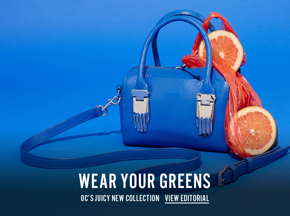 Wear Your Greens - OC's Juicy New Collection - View Editorial