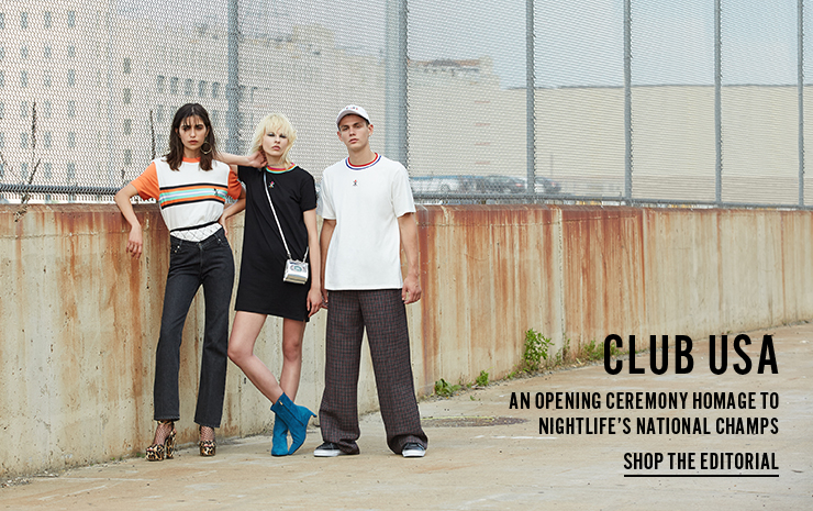 Club USA - An Opening Ceremony homage to nightlife's national champs - Shop the Editorial