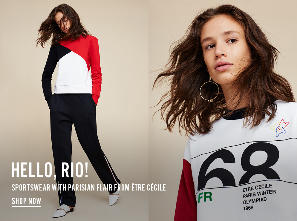 Sportswear with Parisian flair from Etre Cecile - Shop Now