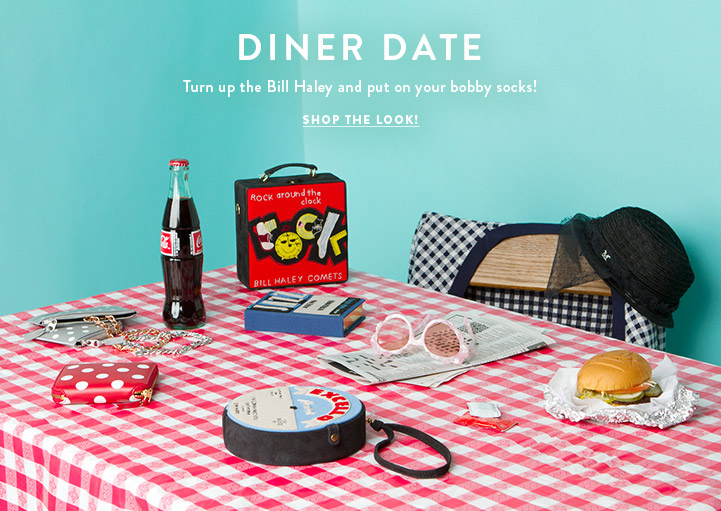 Diner Date - Turn up the Bill haley and put on your bobby socks! Shop the Look