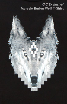 Marcelo Burlon County of Milan Philly Wolf T-Shirt - OC Exclusive!