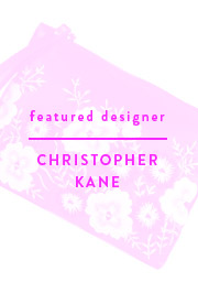 Featured Designer - Christopher Kane