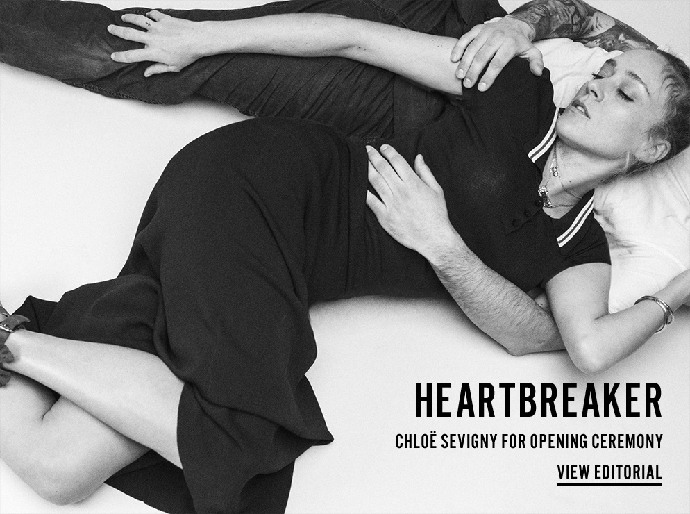 Heartbreaker - Chloe Sevigny for Opening Ceremony - View Editorial