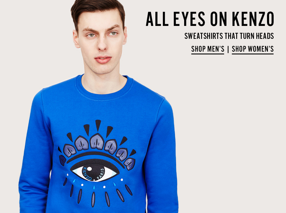 All Eyes On Kenzo - Sweatshirts That Turn Heads - Shop Now