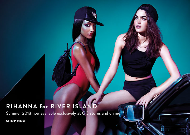 Shop Rihanna for River Island Summer Collection