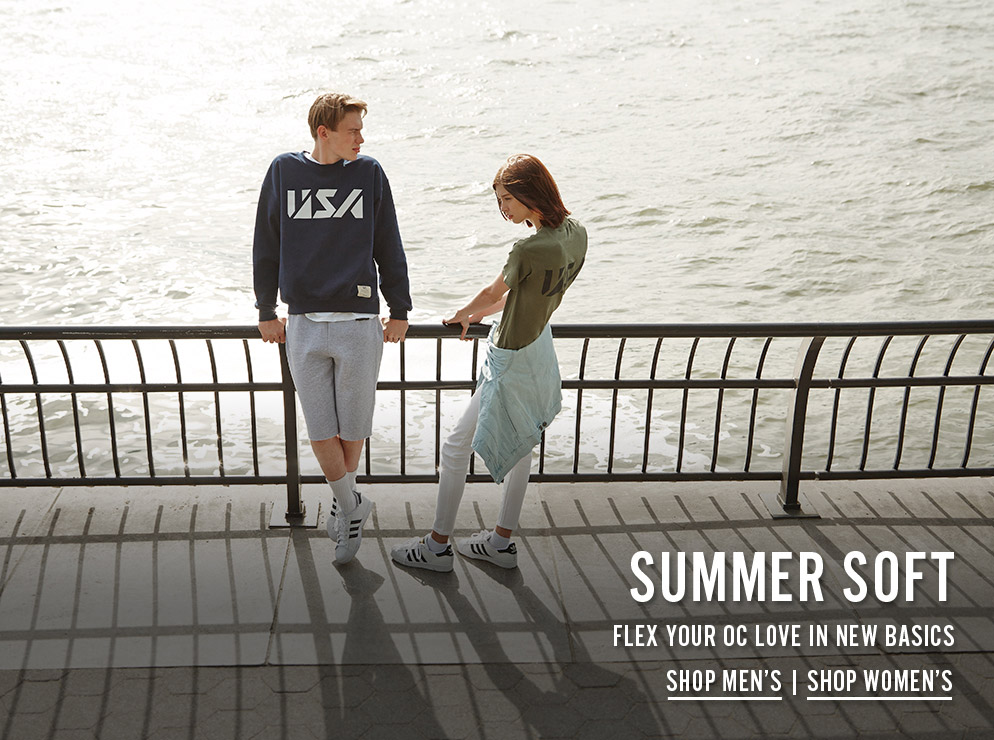 Summer Soft - Flex Your OC Love In New Basics - Shop Now
