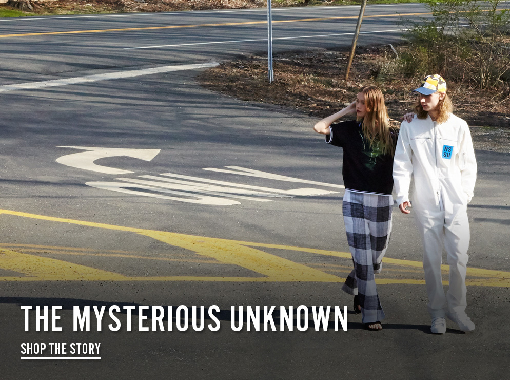 The Mysterious Unknown - Shop the Story