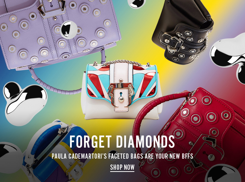 Forget Diamonds - Paula Cademartori's Faceted Bags Are Your New BFFs - Shop Now