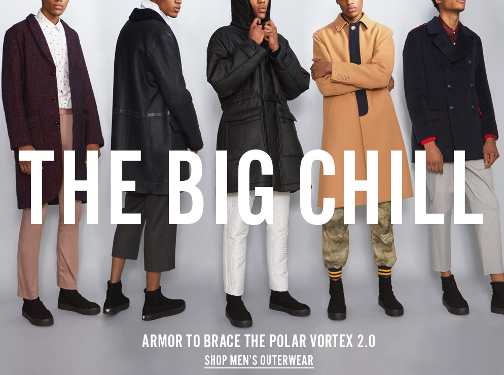 The Big Chill - Armor To Brace The Polar Vortex 2.0 - Shop Men's Outerwear