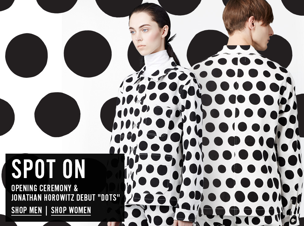 Opening Ceremony and Jonathan Horowitz Debut Dots - Shop Now