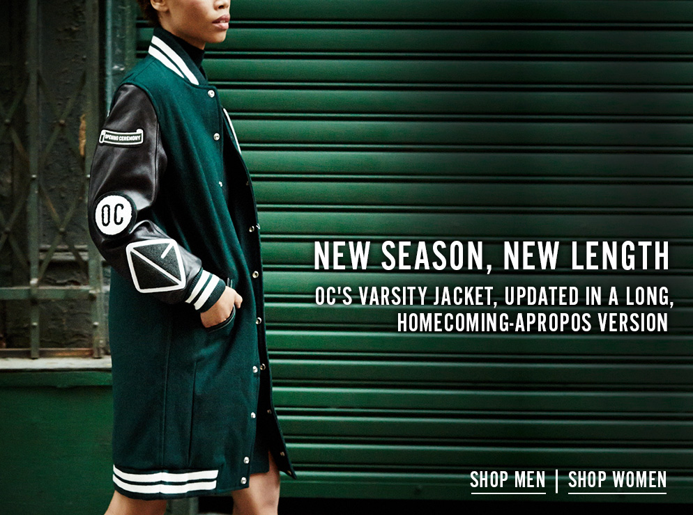 New Season, New Length - OC'S Varsity Jacket, Updated In A Long Homecoming-Apropos Version - Shop Now
