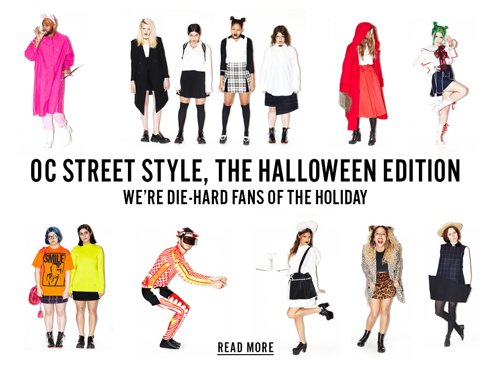 OC Street Style, The Halloween Edition - We're Die-Hard Fans of the Holiday - Read More