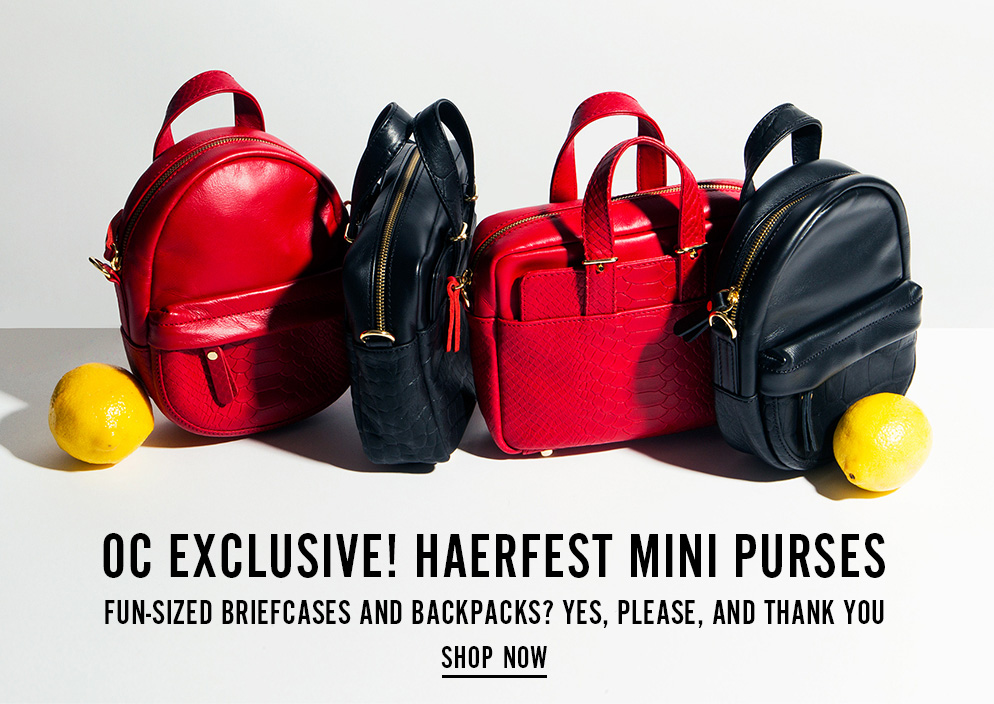 OC Exclusive! Haerfest Mini Purses