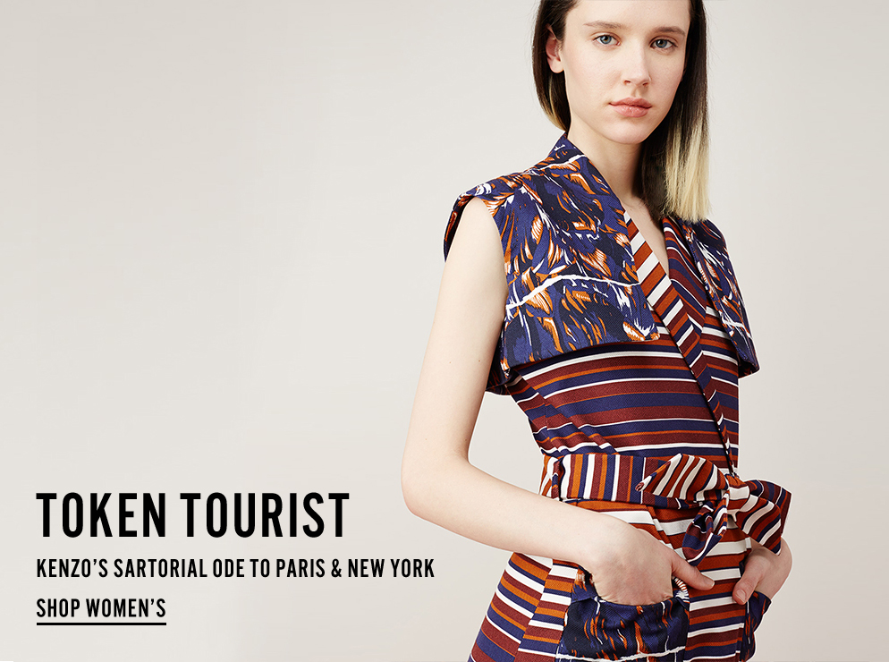 Token Tourist - Kenzo's Sartorial Ode to Paris and New York - Shop Women's