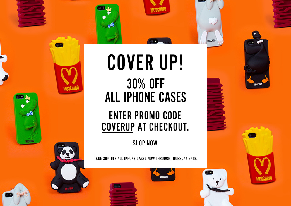 COVER UP! 30% OFF ALL IPHONE CASES WITH CODE COVERUP